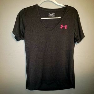 Under Armor Braeast Cancer Awareness Dry Fit Shirt